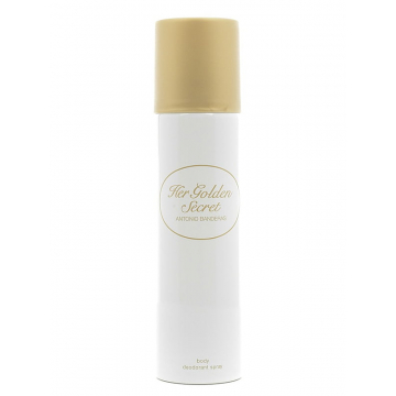 Antonio Banderas Her Golden Secret Дезодорант 150 ml  (8411061770832)