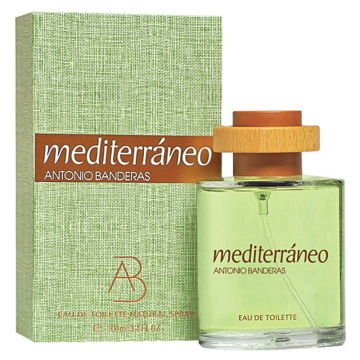 Antonio Banderas Mediterraneo Туалетная вода 100 ml  примятые (14914)