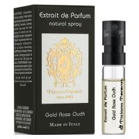 Tiziana Terenzi Gold Rose Oudh Парфюмированная вода 1.5 ml Пробник