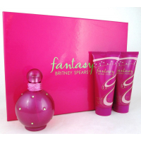 Britney Spears Fantasy Набор (Парфюмированная вода 100 ml + 100 Лосьон для тела + 100 Гель для душа)  (719346642989)