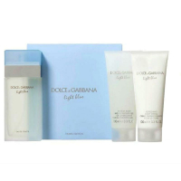 Dolce&Gabbana Light Blue Набор (Туалетная вода 100 ml + Гель для душа 100 ml + Лосьон для тела 100 ml) Travel Ed.  (3423473034247)