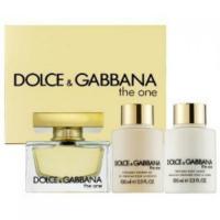 Dolce&Gabbana The One Набор (Парфюмированная вода 75 ml +100 Лосьон для тела+100 Гель для душа )  (737052887241)