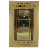 Antonio Banderas The Golden Secret Gold Edition Туалетная вода 100 ml  (8411061820247)