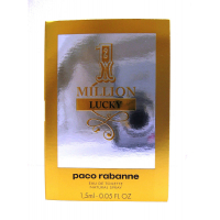 Paco Rabanne One Million Lucky Туалетная вода 1.5 ml пробник  New	 (3349668566839)