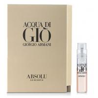 Giorgio Armani Acqua Di Gio Absolu Парфюмированная вода 1.2 ml пробник  New (3614271993007)