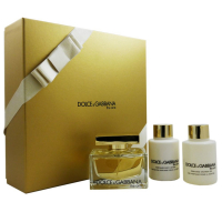 Dolce&Gabbana The One Набор (Парфюмированная вода 75 ml + Лосьон для тела 50 ml + Гель для душа 50 ml )