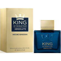 Antonio Banderas King Of Seduction Absolute Туалетная вода 100 ml  Примятые  (18383)