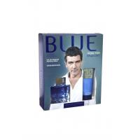Antonio Banderas Blue Seduction Набор (Туалетная вода 100 ml + Бальзам После Бритья 75 ml) Брак Упаковки  (32311)