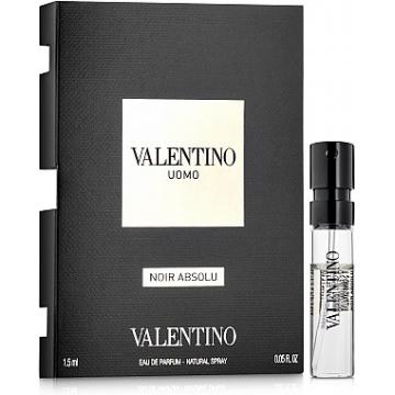 Valentino Uomo Noir Absolu Парфюмированная вода 1.5 ml Пробник (8411061935675)