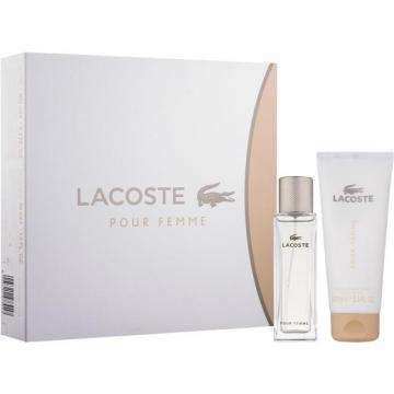 Lacoste Pour Femme Набор (Парфюмированная вода 50 ml + Лосьон Для Тела 100 ml) (3614226770615)