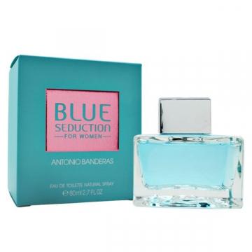 Antonio Banderas Blue Seduction Туалетная вода 80 ml (8411061839669)