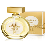 Antonio Banderas Her Golden Secret Туалетная вода 80 ml (8411061770795)