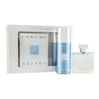 Azzaro Chrome Набор (Туалетная вода 100 + 150 Дезодорант) (3351500005000)
