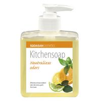 Sodasan Органическое Мыло кухонное для нейтрализации запахов 300мл