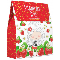 Мульти-Пульти Косметический набор детский Strawberry style (Шампунь 250мл, Крем-мыло 250мл)