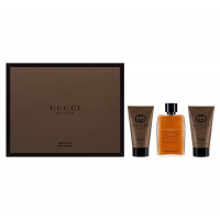 Набор GUCCI Парфюмированная вода GUILTY ABSOLUTE POUR HOMME EDP SPRAY 50ML + лосьон после бритья 50ML + гель для душа 50ML (8005610479194)